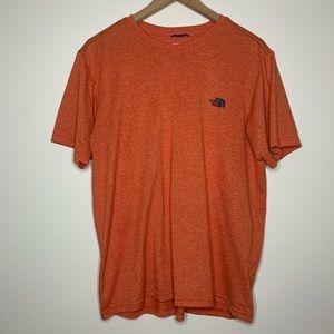 The North Face | Men's | T-Shirt | Orange | Medium